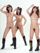Japanese nude girl group does routine like snsd